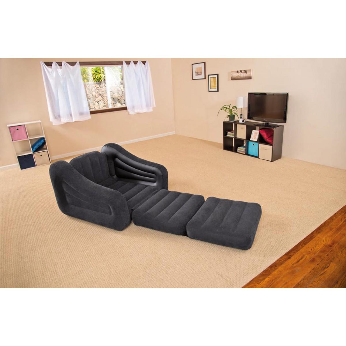 Divano letto intex singolo materasso gonfiabile poltrona for Poltrona letto ebay