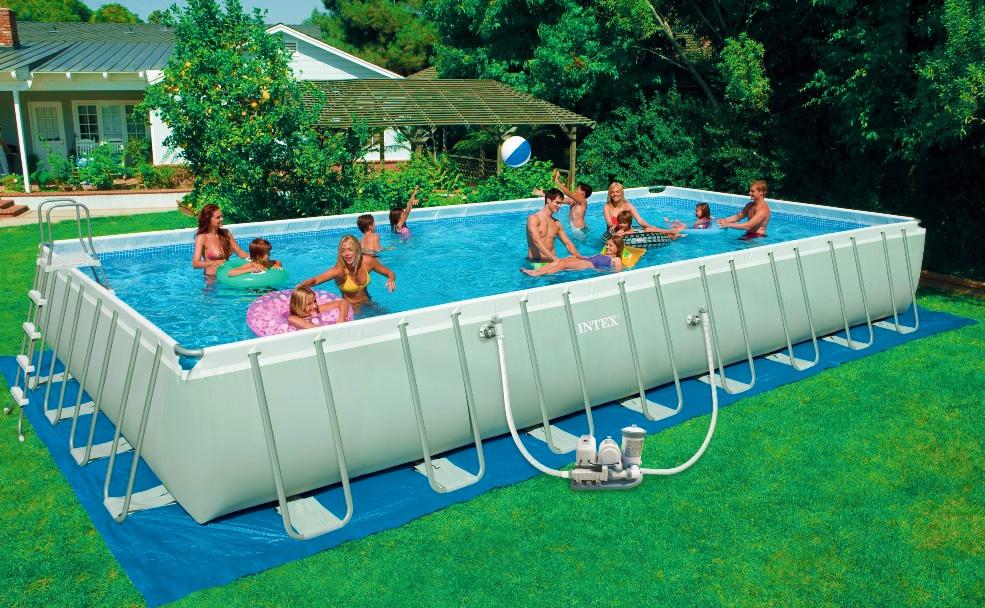 Come scegliere la tua piscina fuori terra consigli rotex - Piscina fuori terra ...