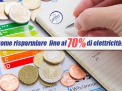 Risparmio energia Elettrodomestici
