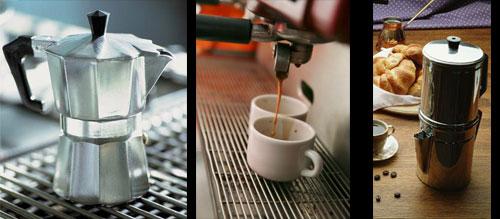 caffettiera o espresso