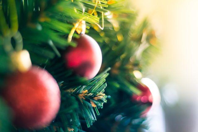 addobbi albero natalizio