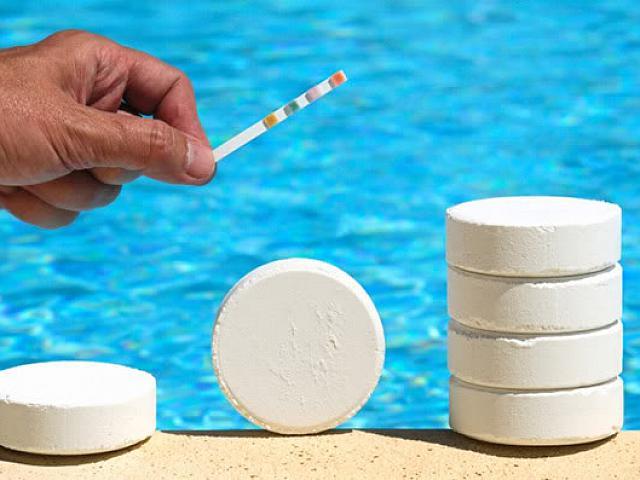 cloro piscine