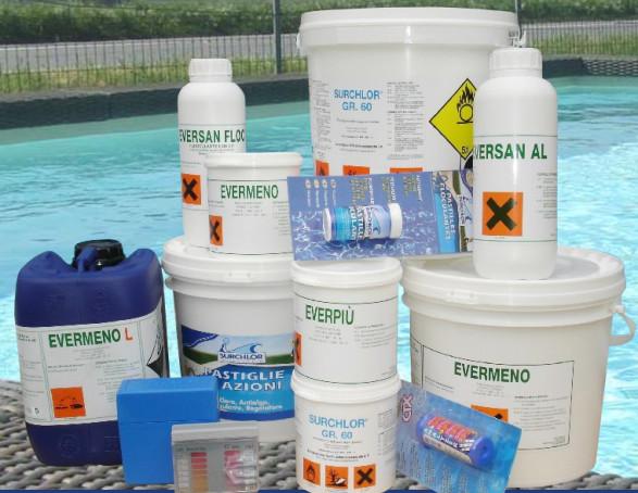 prodotti piscina