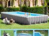 smontaggio piscina