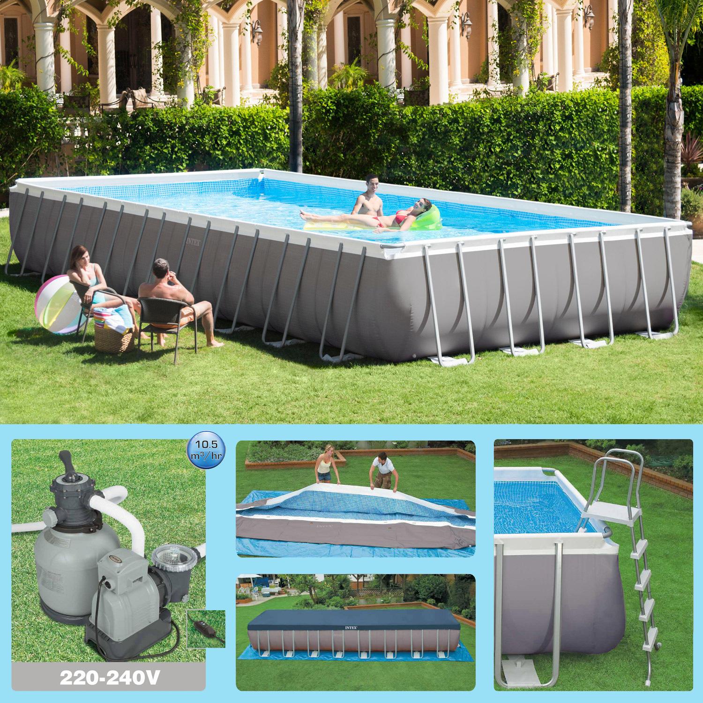 Svuotare e smontare una piscina fuori terra rotex - Piscina a terra ...