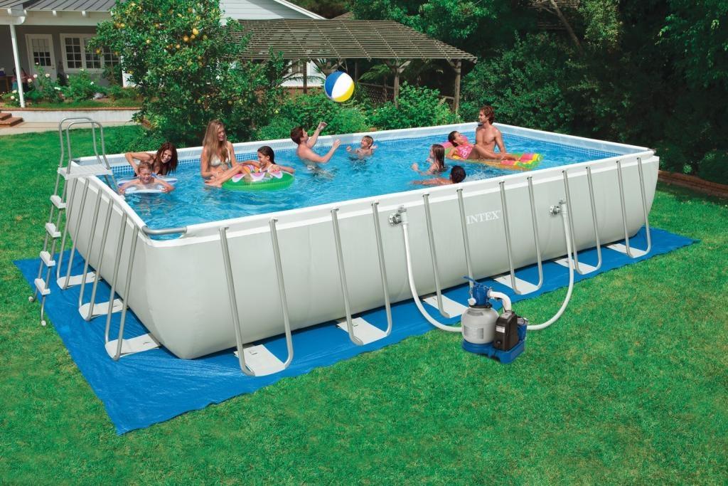 Piccole piscine da giardino piscine per giardino arredare for Prezzi piscine intex