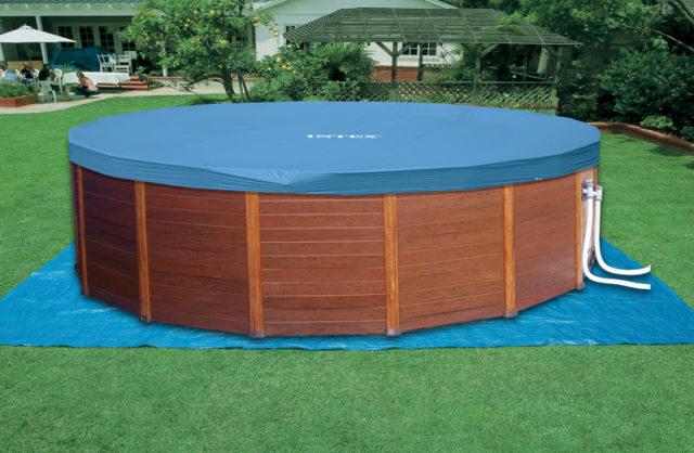 piscina intex coperta