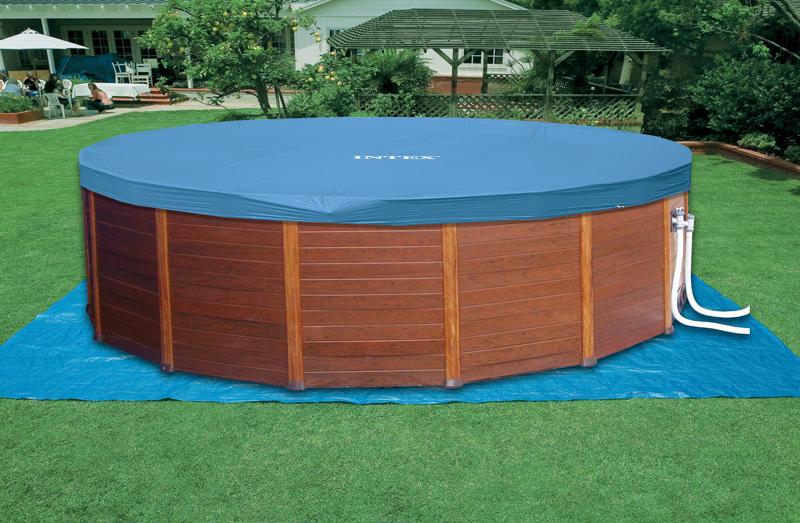 Tenere pulita la copertura invernale delle piscine rotex - Copertura invernale piscina intex ...