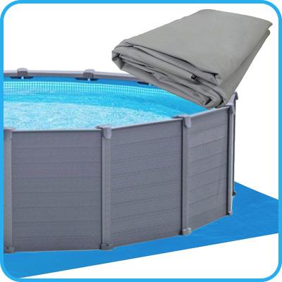 tenere pulita la copertura invernale delle piscine rotex. Black Bedroom Furniture Sets. Home Design Ideas
