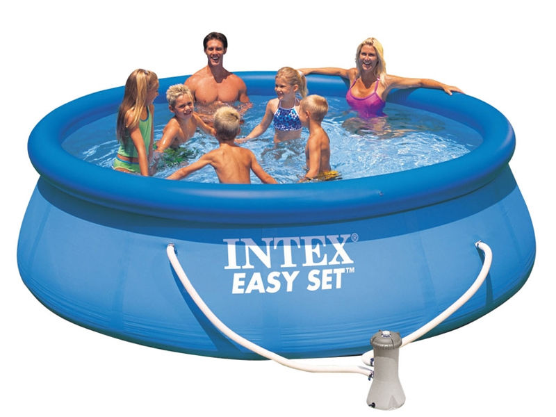 Piscina gonfiabile intex 28168 26168 easy rotonda pompa for Piscina intex rotonda