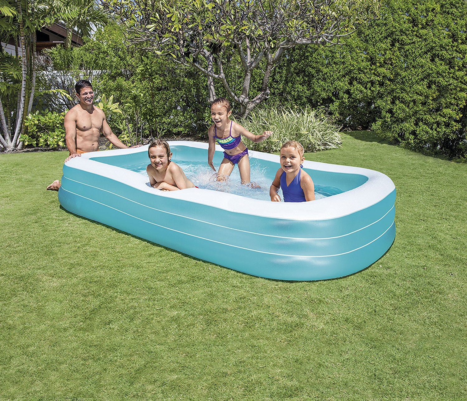 Piscina gonfiabile rettangolare intex 58484 305 x 183 x 56 cm for Alberca intex