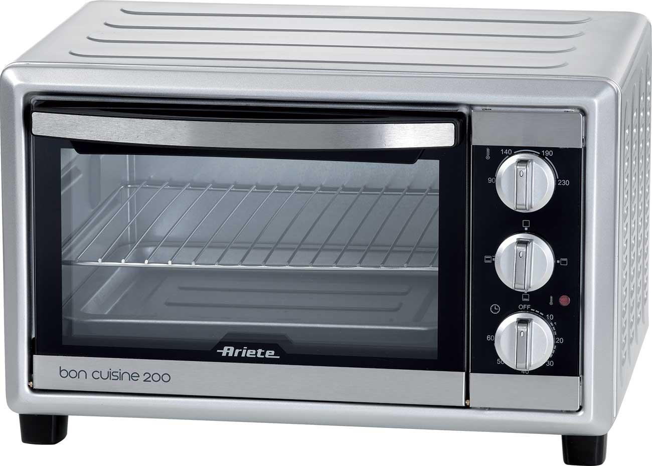 Ariete bon cuisine 200 forno elettrico fornetto ventilato for Ariete bon cuisine 250 metal