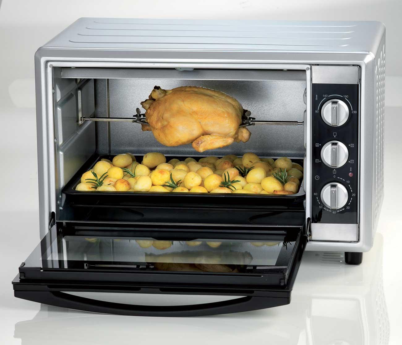 Ariete bon cuisine 450 forno elettrico fornetto 45 lt ventilato 1800 w 986 - Forno elettrico con microonde ...