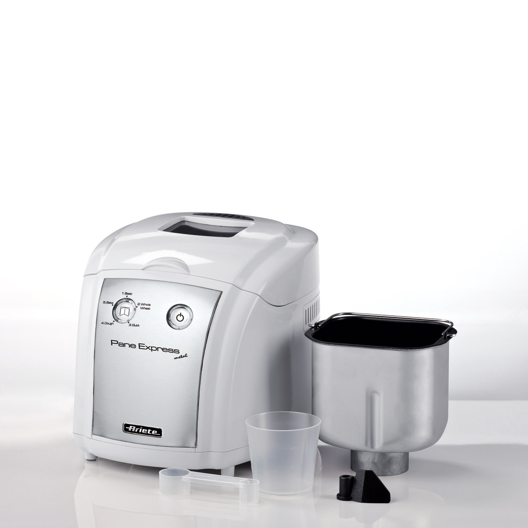 Ariete 125 pane express metal macchina del pane for Ariete elettrodomestici