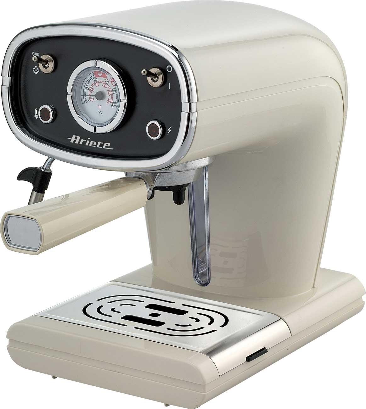 ARIES 1388 Coffee Machine Retro Vintage 850W Coffee Maker 15Bar   eBay
