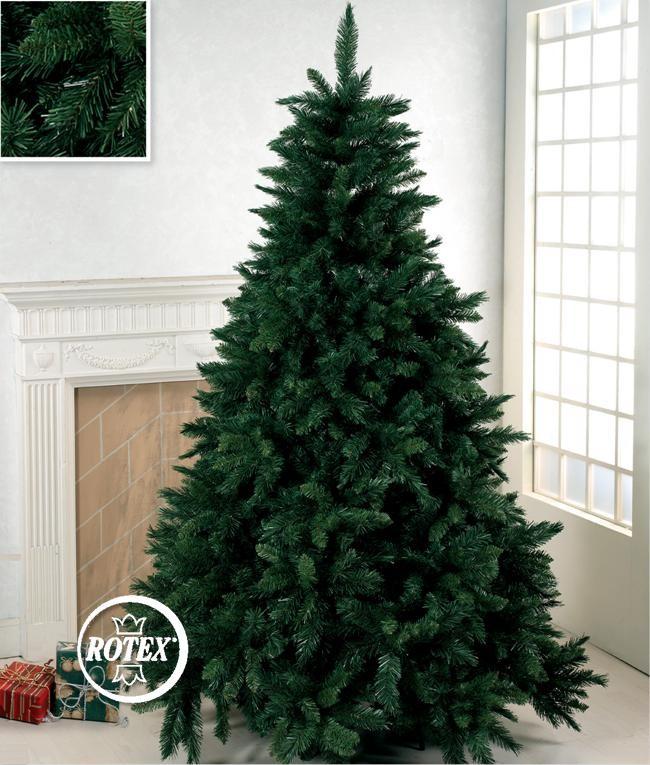 Albero Di Natale Slim 210.Albero Di Natale Artificiale Verde Super Folto Cm 210 Realistico Mt 2 1