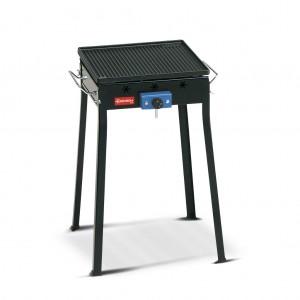 Barbecue ghisa a gas con fornello Ferraboli Mono 90