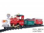 Trenino natalizio musicale Artic Express treno di Natale 107006