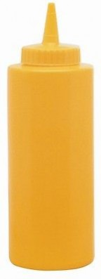 DISPENSER DOSATORE SALSA SALSE MAIONESE KETCKCUP COLORE GIALLO BAR PUB