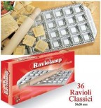 IMPERIA RAVIOLAMP STAMPO STAMPI RAVIOLI 36 TORTELLI CLASSICI PASTA 308