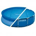 INTEX TELO SOLARE TERMICO PER PISCINA EASY FRAME 29022 CM 366 PISCINE