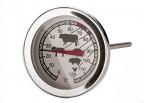 EVA TERMOMETRO PER CARNE GAMBO 130 MM ACCIAIO INOX  DA 0 A 120° C