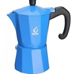 FOREVER MISS MOKA SUPER CAFFETTIERA CAFFE 6 TZ TAZZE CAFFÈ ESPRESSO BLU