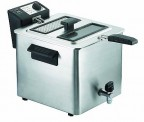 Friggitrice RGV 8 Litri con rubinetto FRY 8N