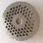REBER PIASTRA TC 12 DIAMETRO 4,5 MM ACCIAIO INOX PER TRITACARNE ELETTRICO