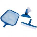 Set pulizia 29056 Intex piscina retino + spazzola 50006