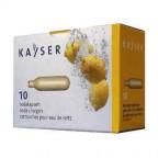 Ricariche bombolette Kayser 10 capsule CO2 per soda