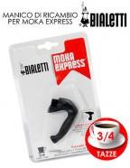 Manico per Moka express 3 4 tazze Bialetti