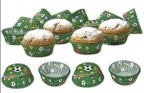 STÄDTER SET 50 PIROTTINI CARTA MINI CALCIO CARTINE DOLCI Ø 35 x h 22 mm