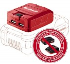 Adattatore USB per batteria Einhell 4514120 Power X-Change
