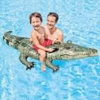 Materassino gonfiabile galleggiante coccodrillo Intex 57551