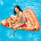 Materassino gonfiabile galleggiante trancio di pizza Intex 58752