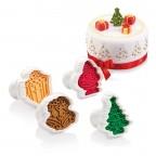 Tagliabiscotti con timbro Natale Tescoma 630857