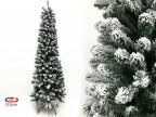 Albero di Natale Artificiale Innevato Slim Maiella 210 cm