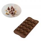 Stampo cioccolatini Choco Flame 3D Silikomart SCG47