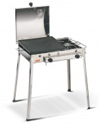 Barbecue a gas combinato inox Ferraboli 93