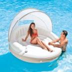 Isola galleggiante con parasole Intex