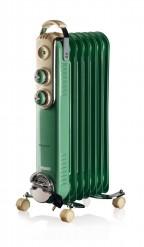 Radiatore ad olio 7 elementi Verde 837