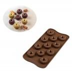 Stampo cioccolatini Choco Crown 3D Silikomart SCG49
