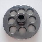 Piastra TC 32 Reber diametro 20 mm acciaio per tritacare elettrico