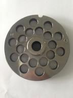Piastra TC 32 Reber diametro 4,5 mm acciaio tritacarne elettrico
