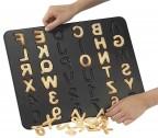 Teglia 36 biscotti forma lettere e numeri Zenker