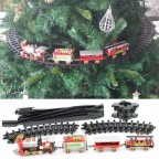 Treno natalizio Trenino su albero di Natale 410100