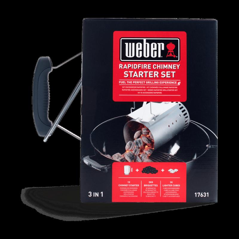 Rotex Starter per barbecue Bbq kit accensione carbone carbonella ciminiera