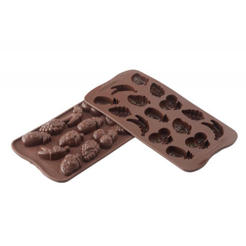 Rotex Stampo cioccolatini Decora cioccolatino mezza sfera praline dolci 25 mm
