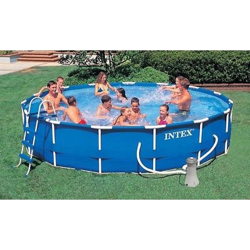 Intex piscina fuoriterra rotonda 56942